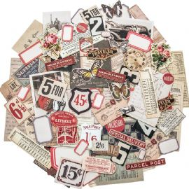 TIM HOLTZ® IDEA-OLOGY™ - Ephemera Pack - Snippets - TH93564